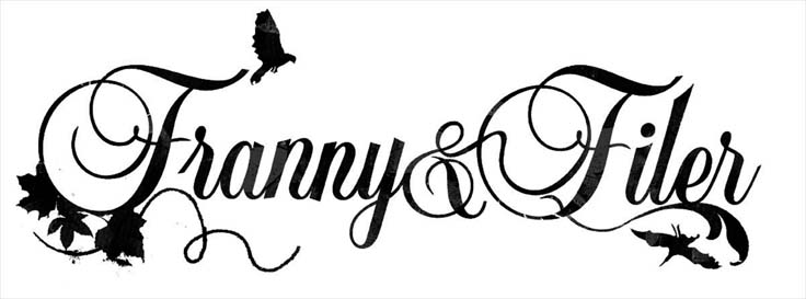 Franny & Filer logo for our jewellery shop